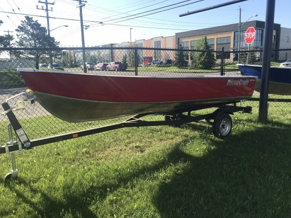 MirroCraft 16' Jet Fishing Boat Package