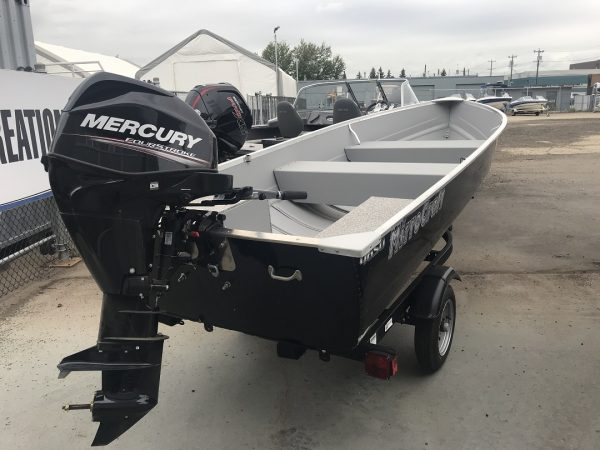 MirroCraft 4650, 25HP Mercury Outboard, and Trailer