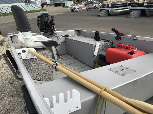 2018 MirroCraft 4650 Utility Boat Package (20HP)